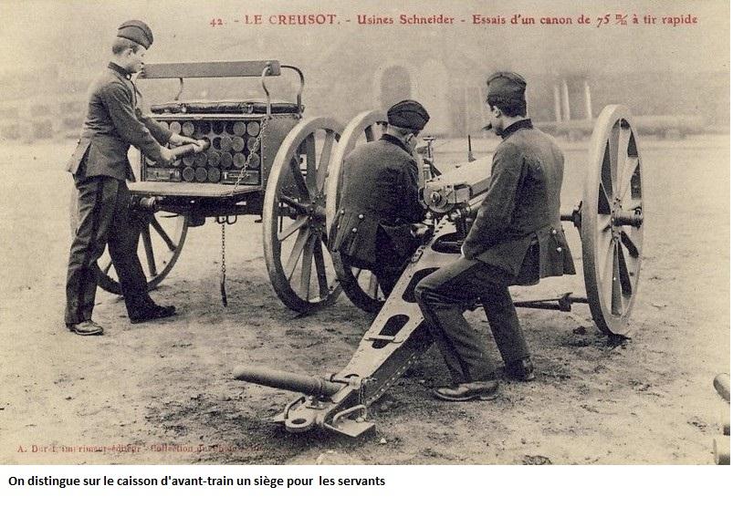 Avant-train de la forge de campagne Conducteur d/'artillerie